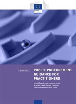 Okładka: Zamówienia Publiczne – Porady dla osób odpowiedzialnych za udzielanie zamówień publicznych dotyczące unikania najczęstszych błędów popełnianych w projektach finansowanych z EFSI