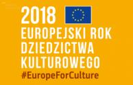 Europejski Rok Dziedzictwa Kulturowego