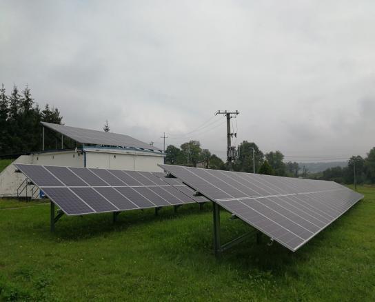 Mikroinstalacje fotowoltaiczne w gminie Łodygowice