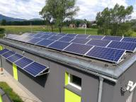 Photo-voltaic micro-installations in Łodygowice