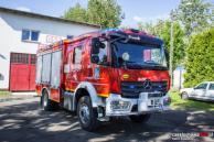 Nowy pojazd pożarniczy OSP Gnaszyn - zdj. udostępniono za zgodą portalu czestochowa998.pl
