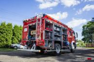 Nowy pojazd pożarniczy OSP Gnaszyn