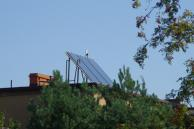 Solar collectors and photovoltaic links in Kalety