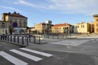 Bus square in Czechowice-Dziedzice