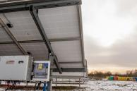 Photovoltaic power plant dedicated to the wastewater treatment plant