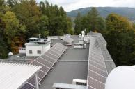 Odnawialne źródła energii w Centrum Pulmonologii i Torakochirurgii w Bystrej - fot. Centrum Pulmonologii i Torakochirurgii w Bystrej