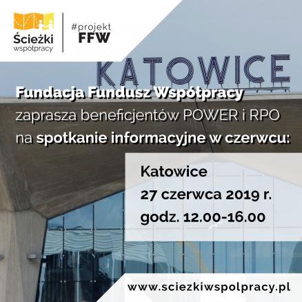 Grafika , spotkanie informacyjne - Katowice 27 czerwca 2019 r.
