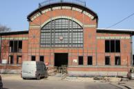 Fasada w trakcie rewitalizacji