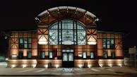 Stacja Biblioteka nocą