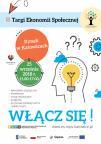 Plakat promujący Targi Ekonomii Społecznej