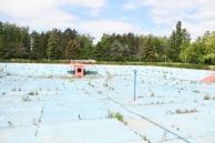 Obecny stan kąpieliska przy kopalni w Żorach - fot. Patryk Pyrlik UMWS