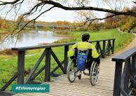Natura dostępna dla wszystkich - projekt ułatwia dostęp do turystyki przyrodniczej osobom z niepełnosprawnościami na Łotwie