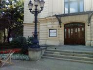 Teatr Polski w Bielsku-Białej - schody zewnętrzne przed renowacją
