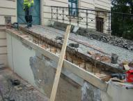 Teatr Polski w Bielsku-Białej - rampa w trakcie renowacji