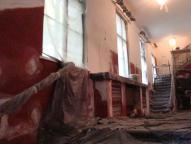 Teatr Polski w Bielsku-Białej - wnętrze teatru w trakcie renowacji