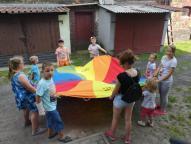 Centrum Wsparcia Rodziny w Pyskowicach - zabawa z okazji Dnia Dziecka