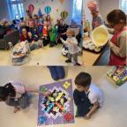 Centrum Wsparcia Rodziny w Pyskowicach (kolaż zdjęć)