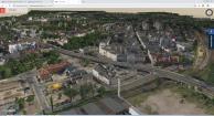 Mapa Chorzowa w 3D