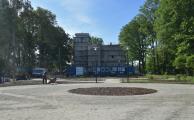 Zameczek w Czerwionce-Leszczynach w trakcie rewitalizacji