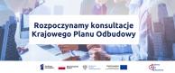 Baner - Rozpoczynamy konsultacje KPO