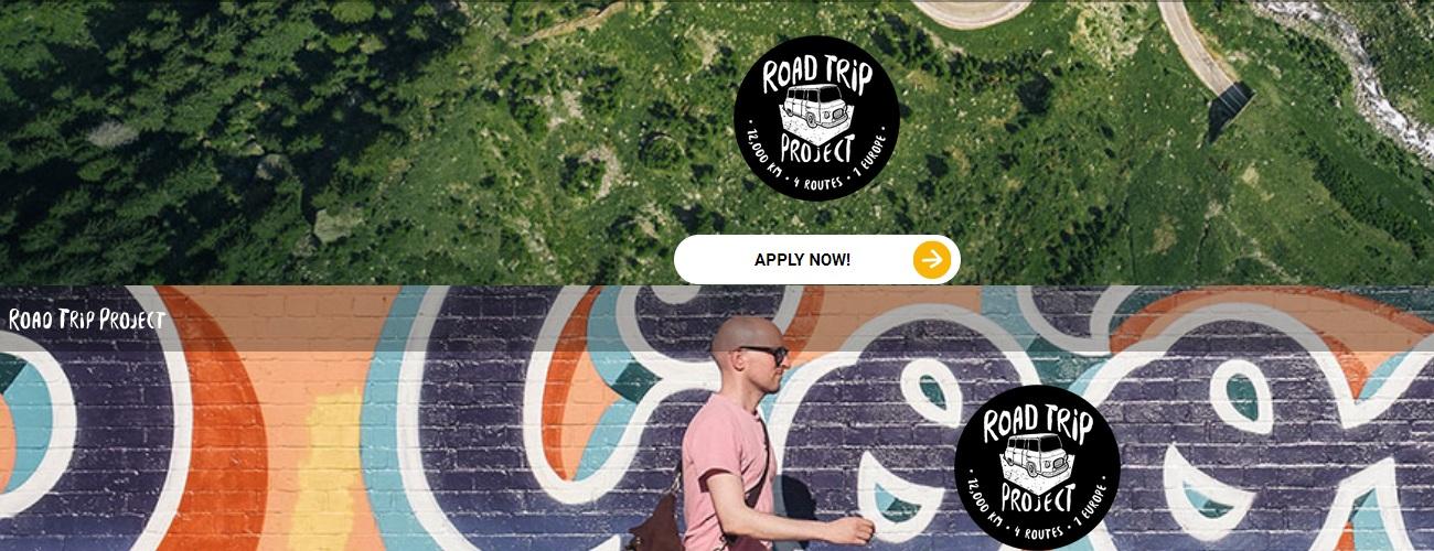 Road Trip Project - weź udział w jednej z czterech wypraw po Europie