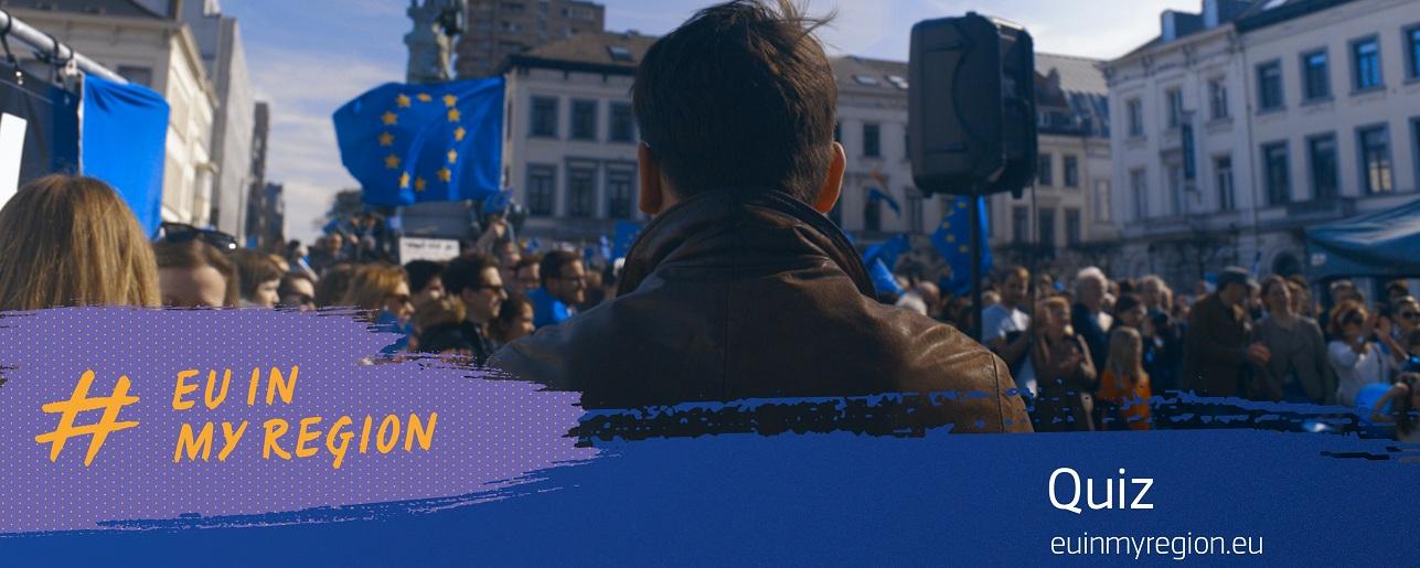 Rozwiąż Quiz #EUinmyRegion