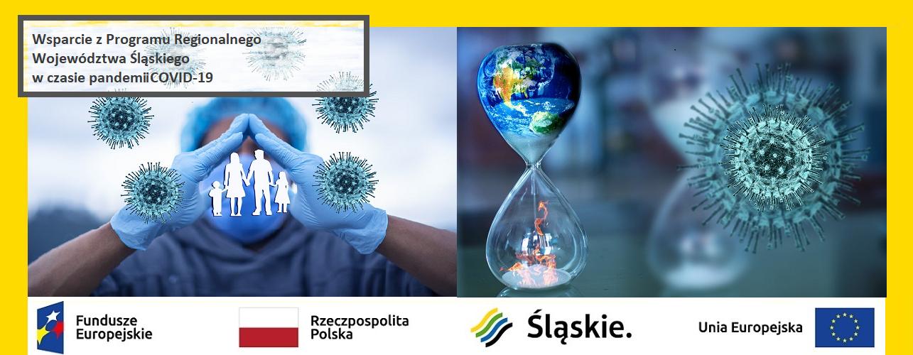 Wsparcie z Regionalnego Programu Operacyjnego Województwa Śląskiego w okresie pandemii COVID-19 – stan na 31 lipca