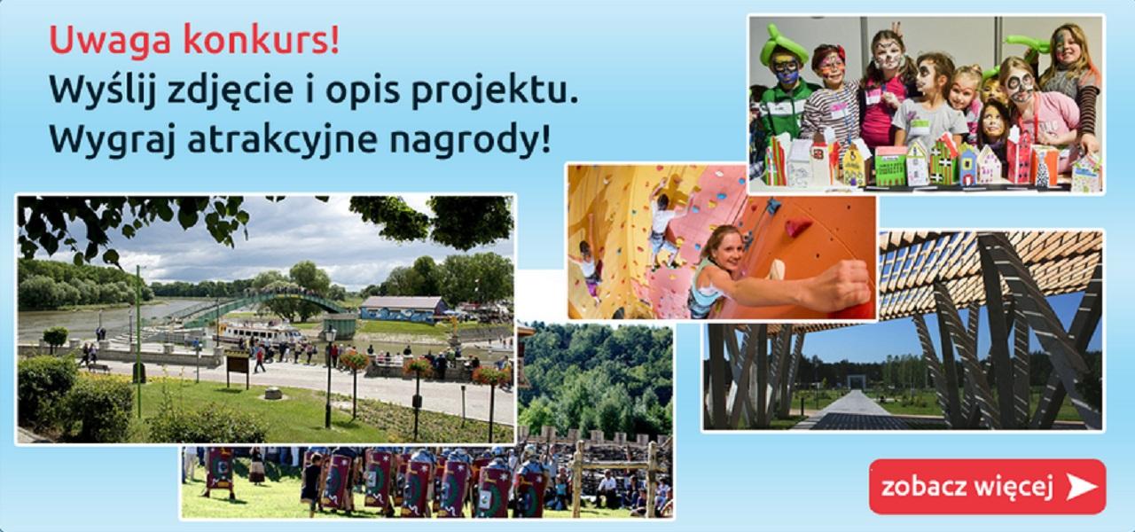 Nagrody za zdjęcie projektu dofinasowanego z Funduszy Eropejskich - Wchodzisz w to?