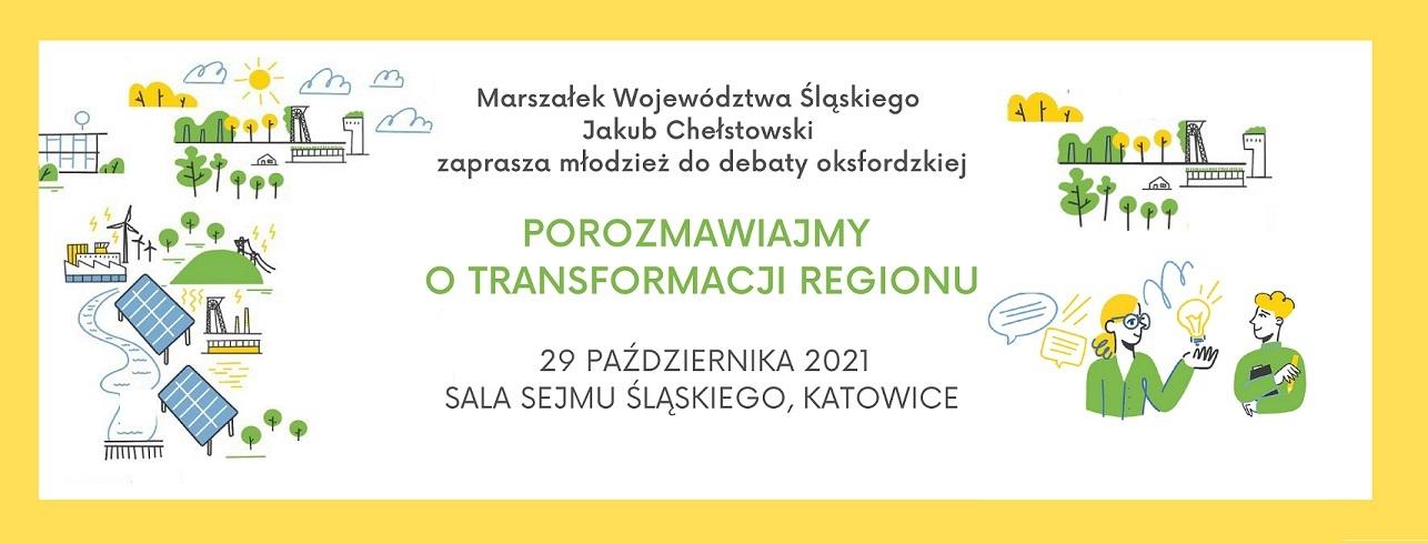 Porozmawiajmy o transformacji regionu – debata oksfordzka
