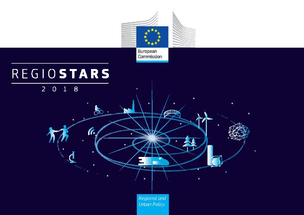 Plakat konkursu RegioStars Awards 2018