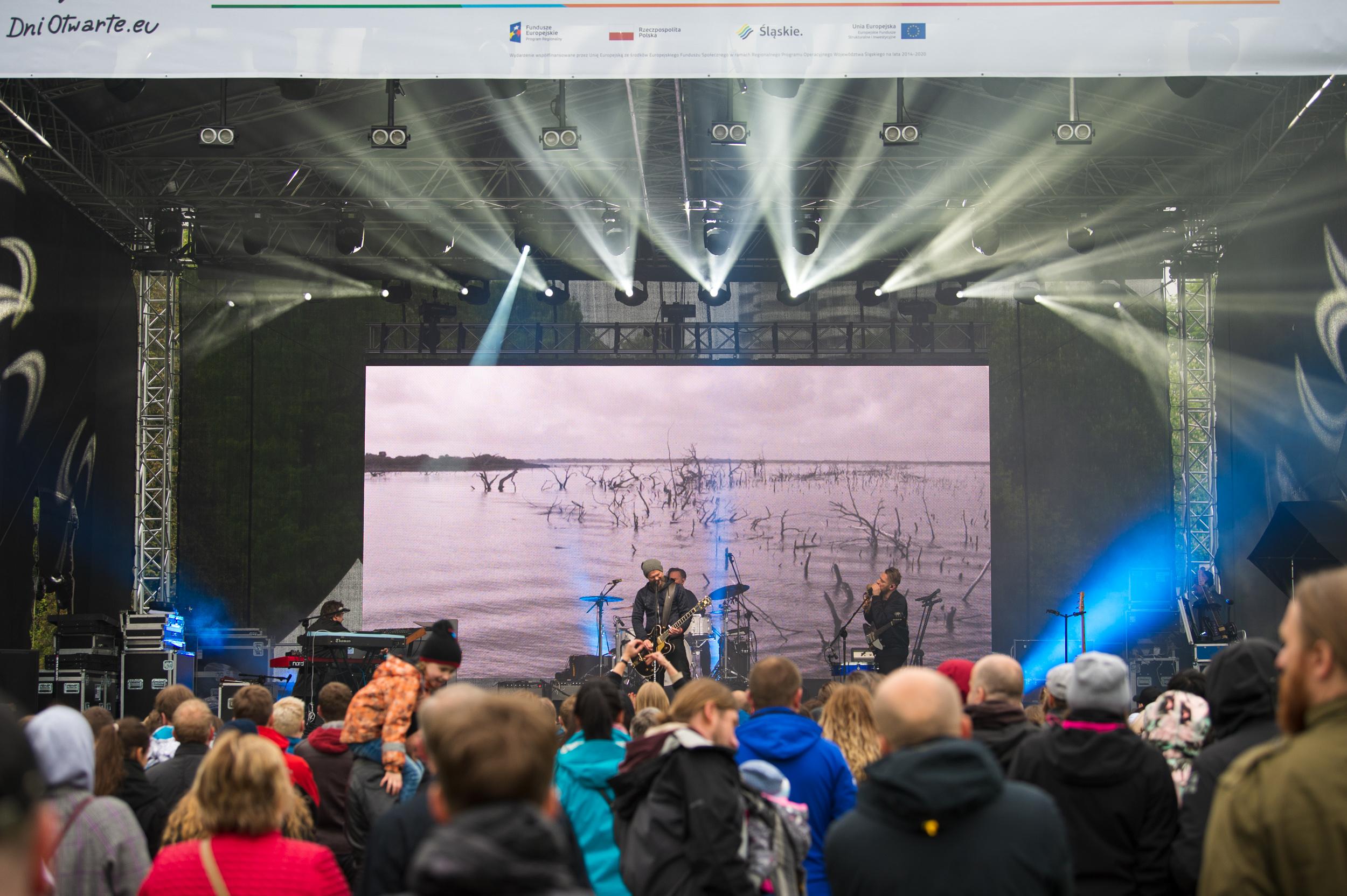 Koncert finałowy w Chorzowie podczas zeszłorocznych DOFE