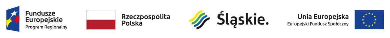 Zestawienie znaków z logo RPO województwa Śląskiego
